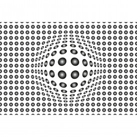 Fototapety Dots Black and White DD118889 A.S. Création Designwalls