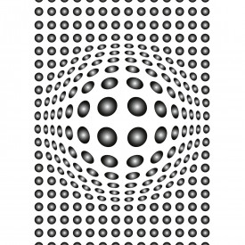 Fototapety Dots Black And White DD119052 A.S. Création Designwalls