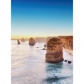 Fototapety Cliff At Sunset In Australia DD119063 A.S. Création Designwalls