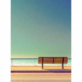 Fototapety Bench And Sea DD119087 A.S. Création Designwalls